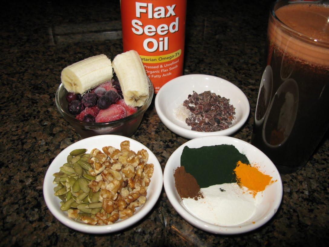superfood ingredients for my breakfast shake