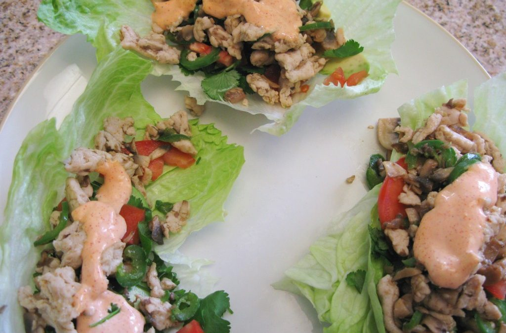 Lettuce Wraps (low calorie and low glycemic)