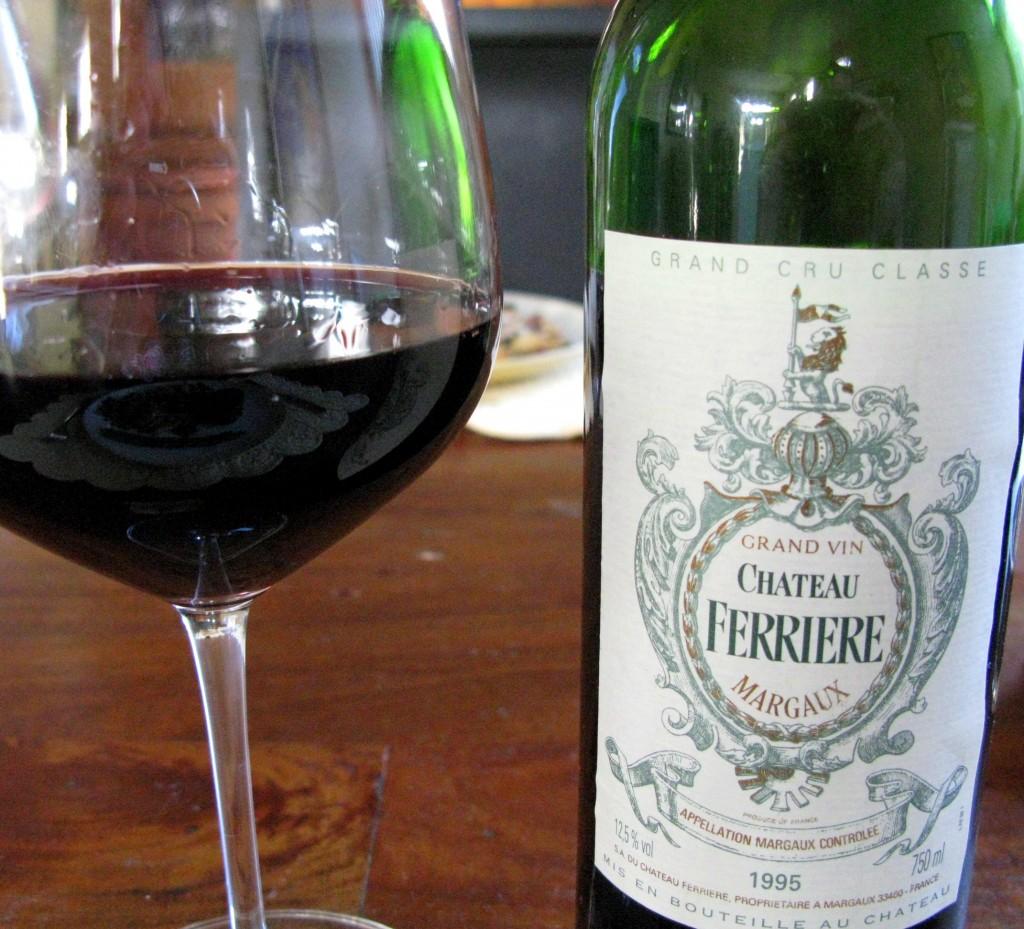1995 Chateau Ferriere - Margaux - Grand Cru