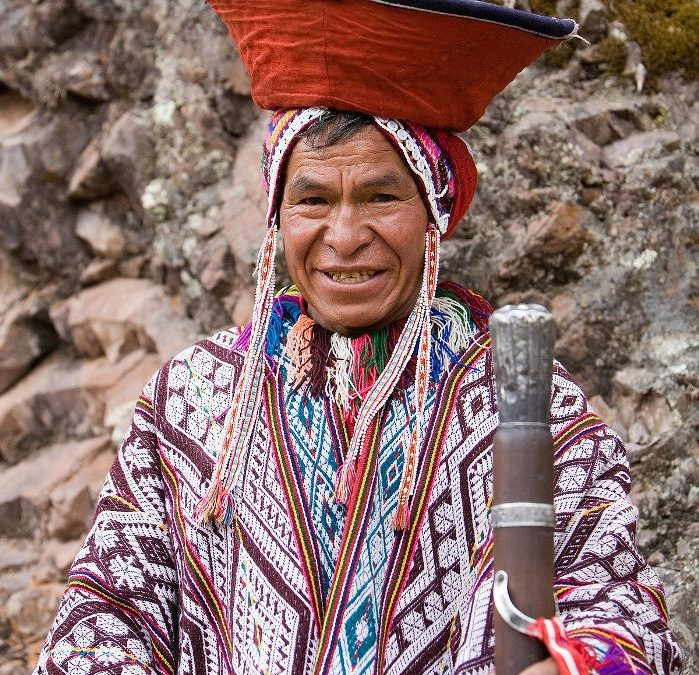 A Quechua from the Andes of Peru