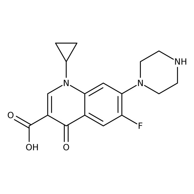 Ciprofloxacin (Cipro), a fluoroquinolone, is the third most commonly used antibiotic, and inhibits mitochondrial DNA (mtDNA) synthesis, affecting cellular growth and differentiation.