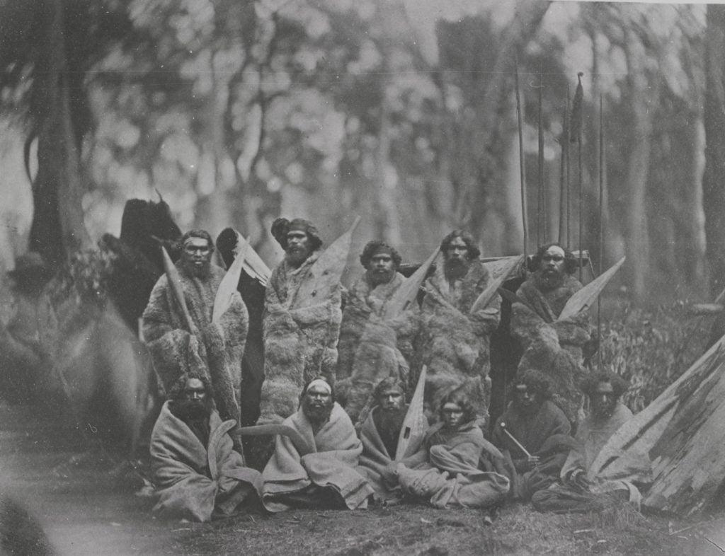 Group of Aborigines 1857
