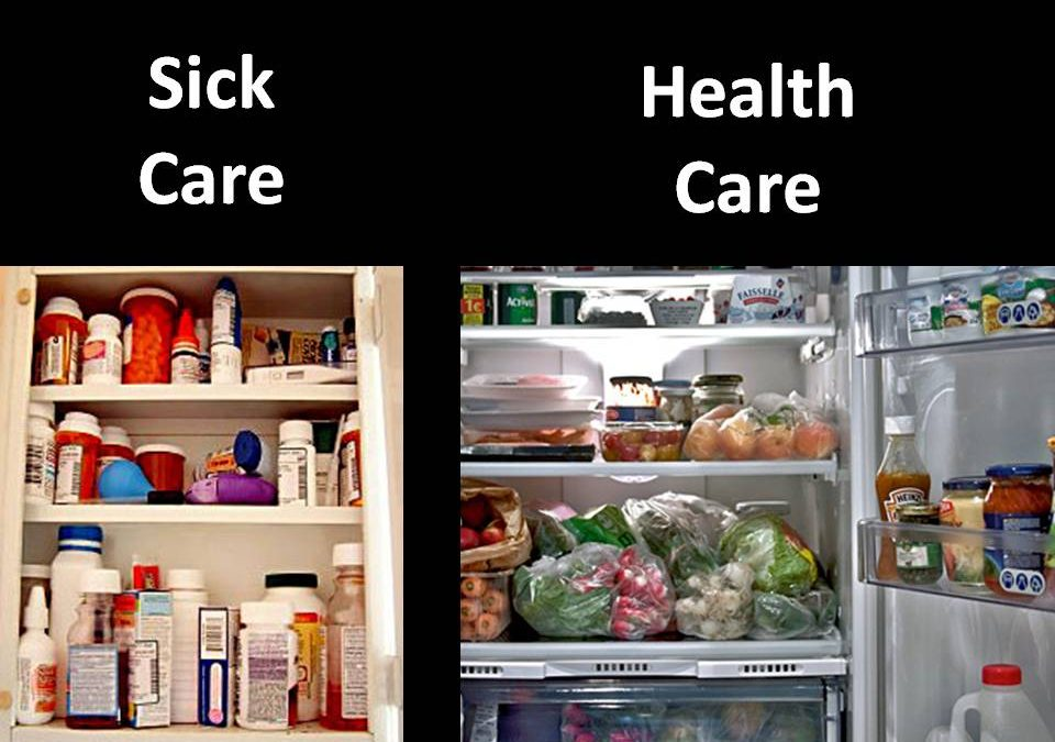 healthcare is not healthcare, it's disease care or sick care